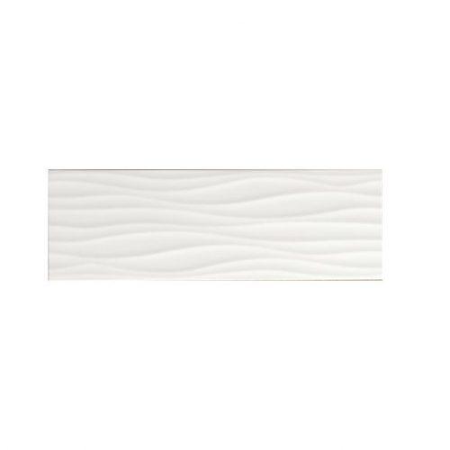 Sienų plytelės - Wave blanco
