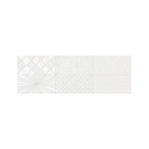 Sienų plytelės - Decor Camaleonte mix blanco