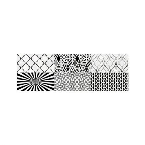 Sienų plytelės - Decor Camaleonte mix negro
