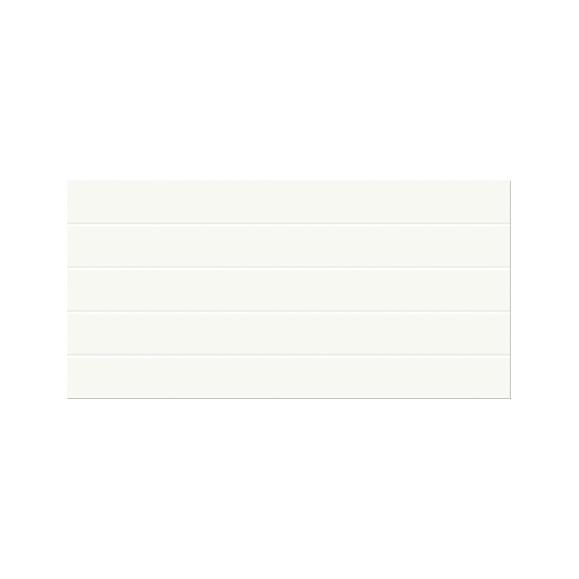 Sienų plytelės - Nature White glossy structur