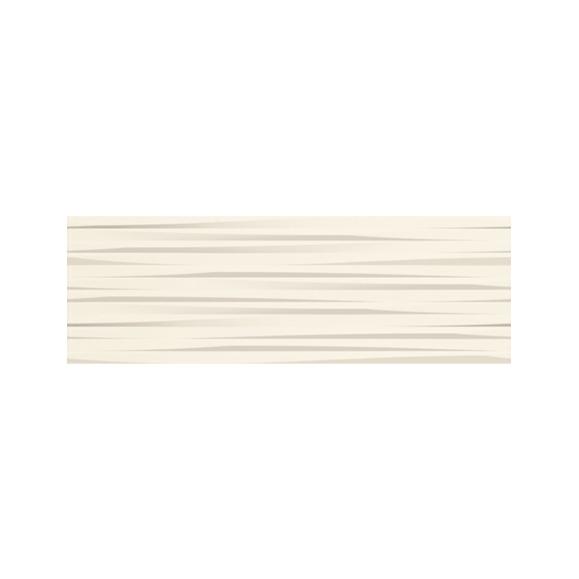 Sienų plytelės - Aspen Waves blanco brillo 20x60