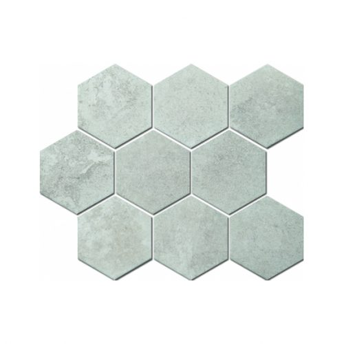 Mozaika - Mozaika Marble hexagon white 95x110mm