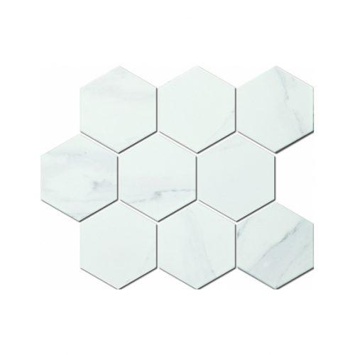 Mozaika - Mozaika Marble Carrara white 95x110mm