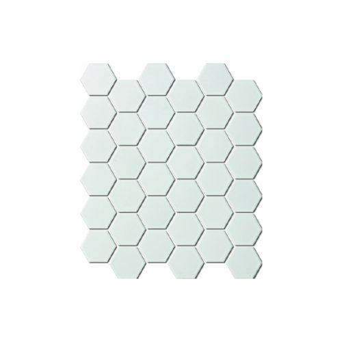 Mozaika - Mozaika Hexagon white matt 51x59mm