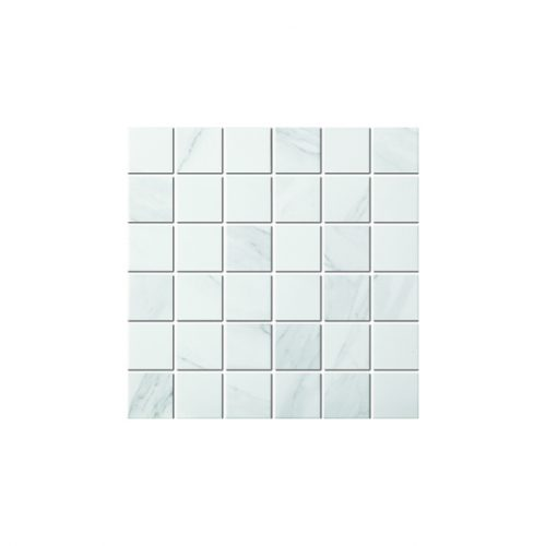 Mozaika - Mozaika Carrara white matt 48x48mm